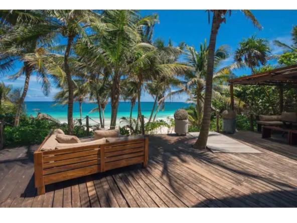 Tulum – 5 Bedroom Beachfront Villa